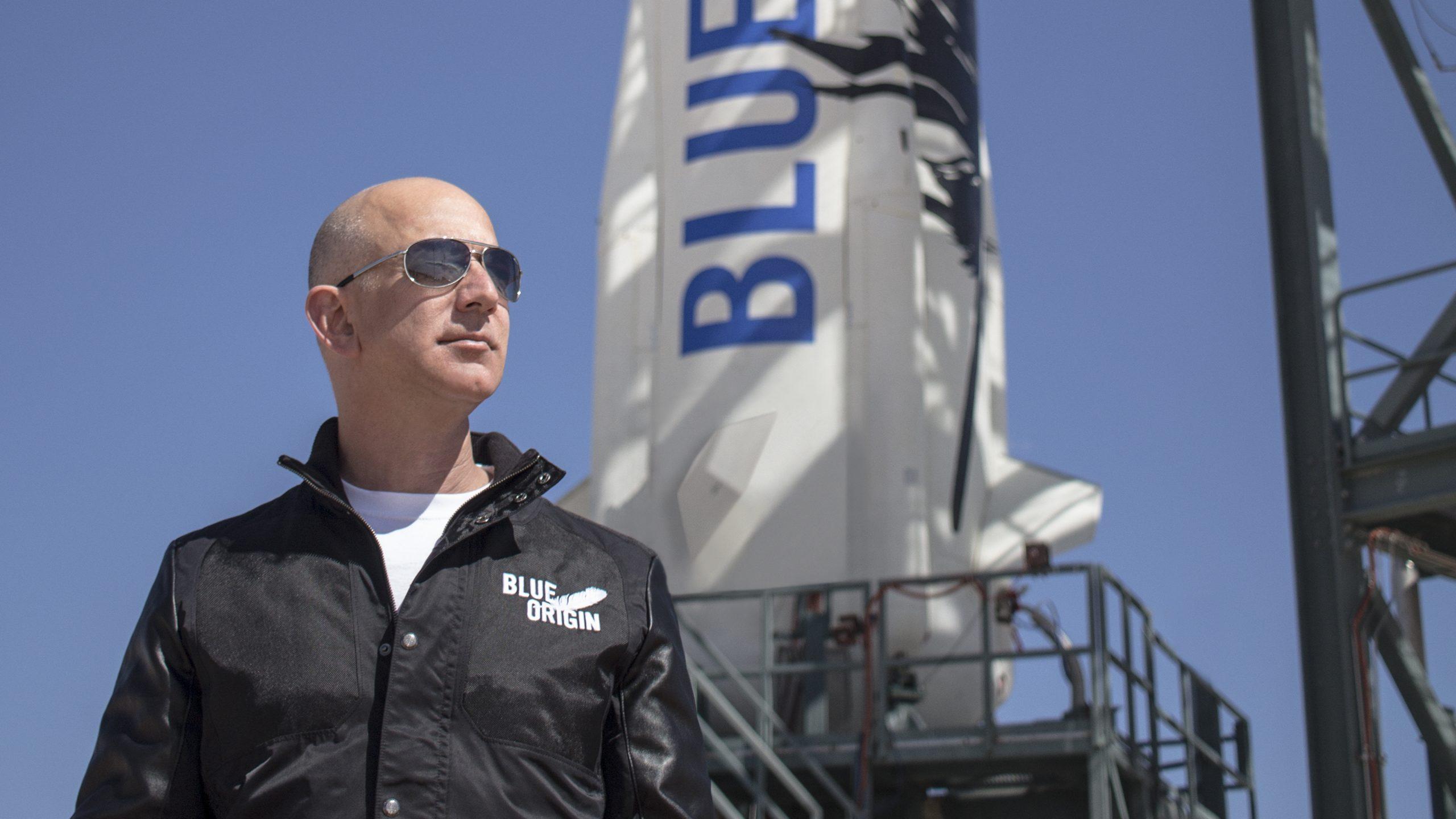 Bezos, de vender libros a fabricar cohetes