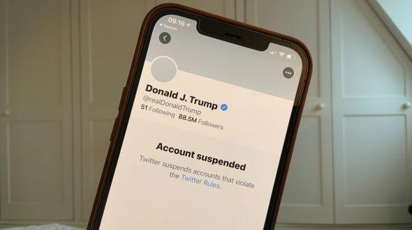 Trump condenado al ostracismo digital