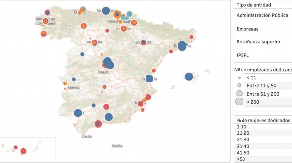 El mapa de la IA en España