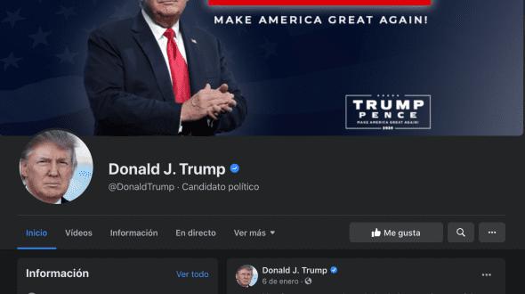🧟♂️ La página zombi de Donald Trump en Facebook