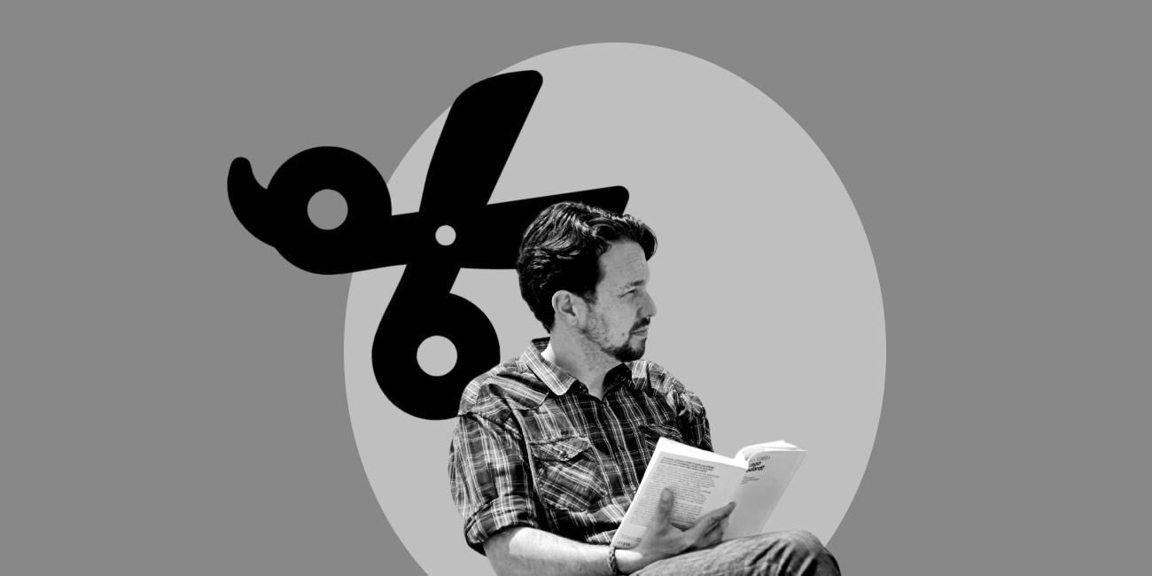 Pablo Iglesias con la coleta cortada